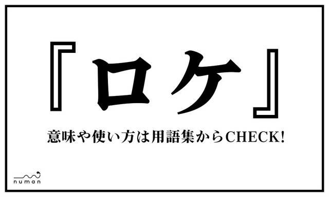 ロケ(ろけ)