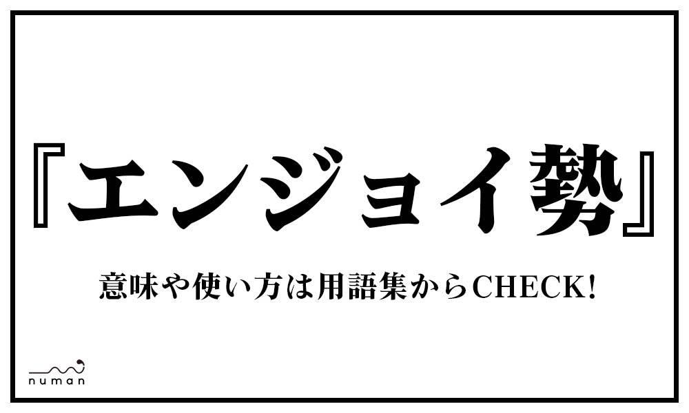 エンジョイ勢(えんじょいぜい)