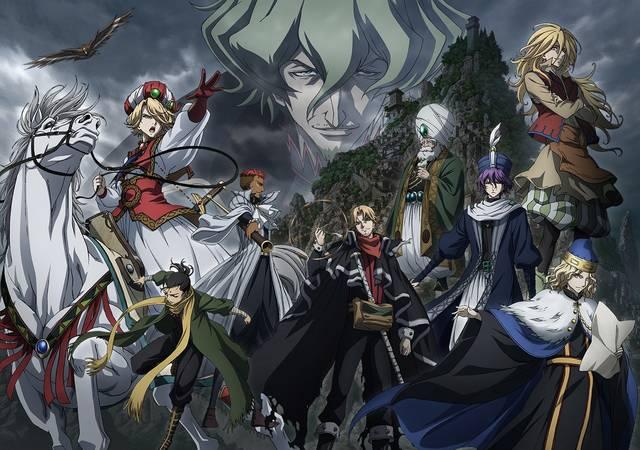 エキゾティックアニメ「将国のアルタイル」第2クール新ビジュアル公開!追加キャスト続々発表!