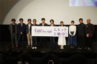 劇場版「Fate/stay night [Heaven's Feel]」Ⅰ.presage flower大ヒットスタート!全国動員・興収ランキング1位