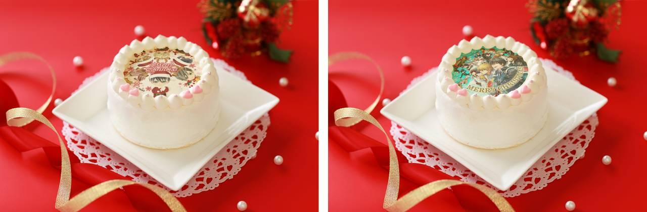 『イケメンヴァンパイア◆偉人たちと恋の誘惑』、『イケメン革命◆アリスと恋の魔法』クリスマスデザインのプリントケーキを発売決定!