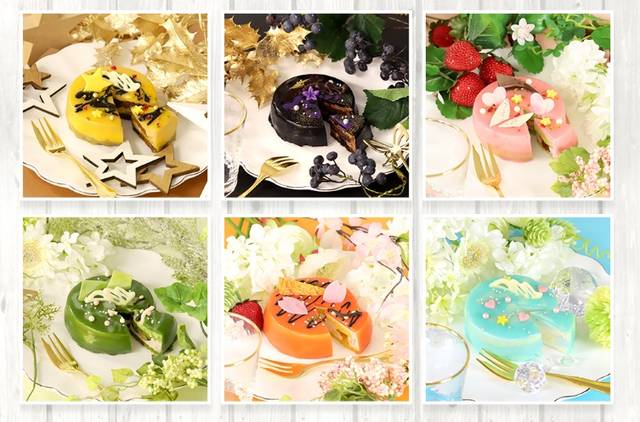 人気アニメ「ツキウタ。」に登場するアイドルのメンバーをイメージしたオリジナルケーキの発売が決定!