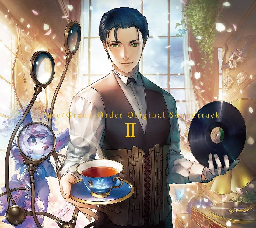 『Fate/Grand Order Original Soundtrack Ⅱ』ジャケット絵柄公開! 購入特典は和製ミニショッパー全9種類