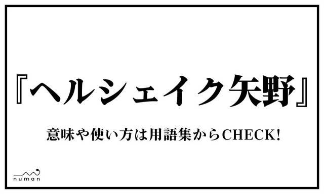ヘルシェイク矢野(へるしぇいくやの)