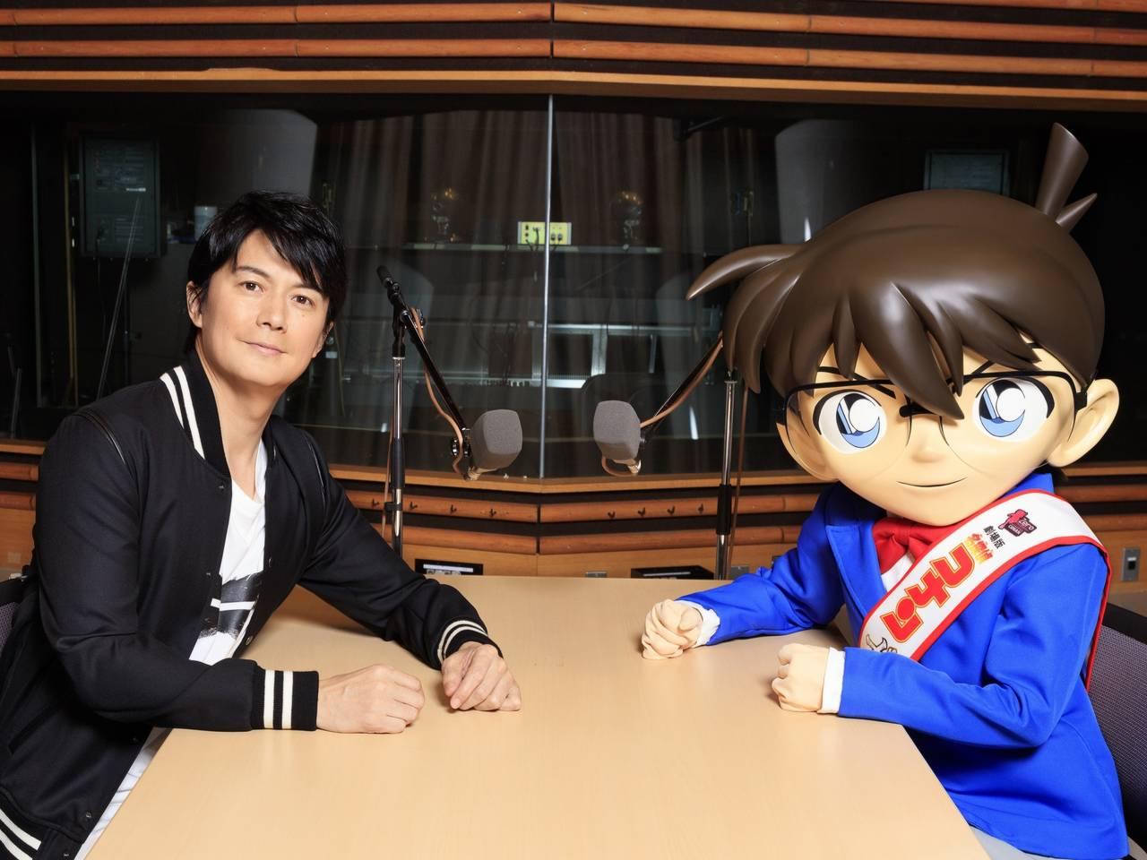 福山雅治×コナンがラジオ初対談!劇場版『名探偵コナン ゼロの執行人』主題歌 『零 -ZERO-』初オンエアも!