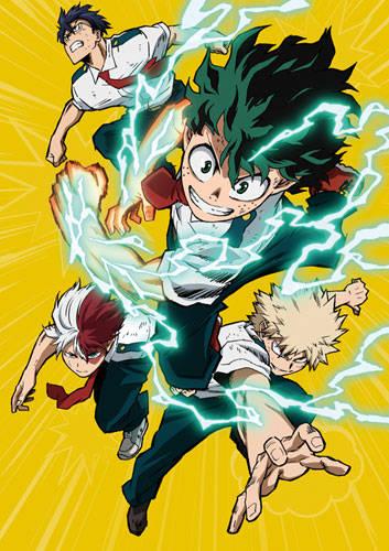 『僕のヒーローアカデミア』3rdシーズンBlu-ray発売決定!アニメイトで予約すると限定特典をプレゼント