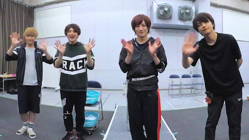 舞台『クレスト☆シザーズ』の稽古場が覗けるVRコンテンツが配信