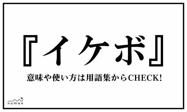 イケボ(いけぼ)