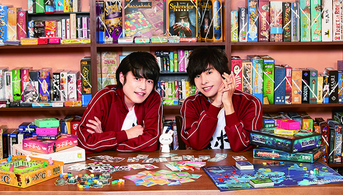 岡本信彦&堀江瞬のオフィシャルインタビューが到着!『ボドゲであそぼ』がTOKYO MXで放送決定