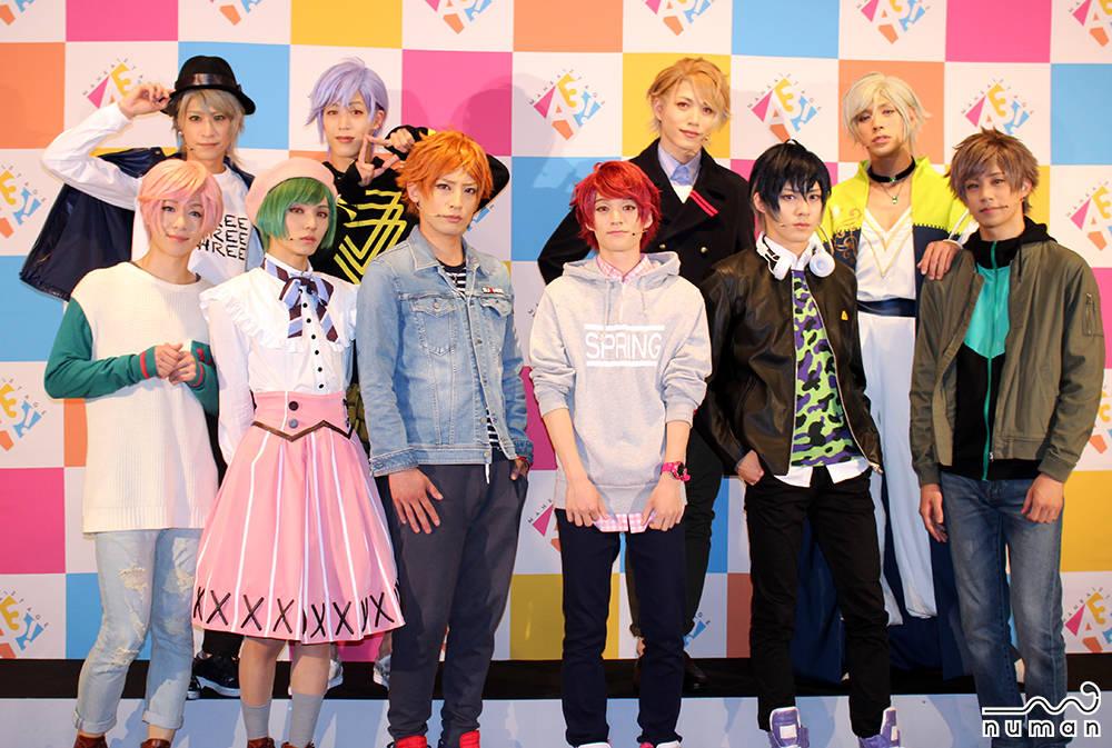 MANKAI STAGE『A3!』~SPRING & SUMMER 2018~ キャストコメント公開|初日会見レポート