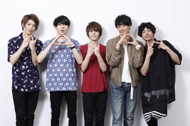 MANKAI STAGE『A3!』 ~SPRING & SUMMER 2018~ 初日公演をWOWOWで独占放送! 春組5人のコメントが到着!