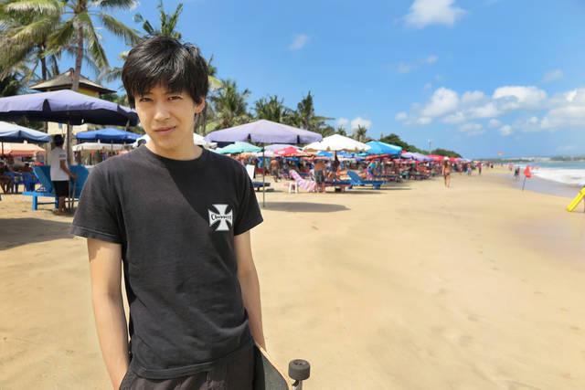 小沼将太1st DVD『First trip』~SHOTA ONUMA  in  Bali~ 発売決定!