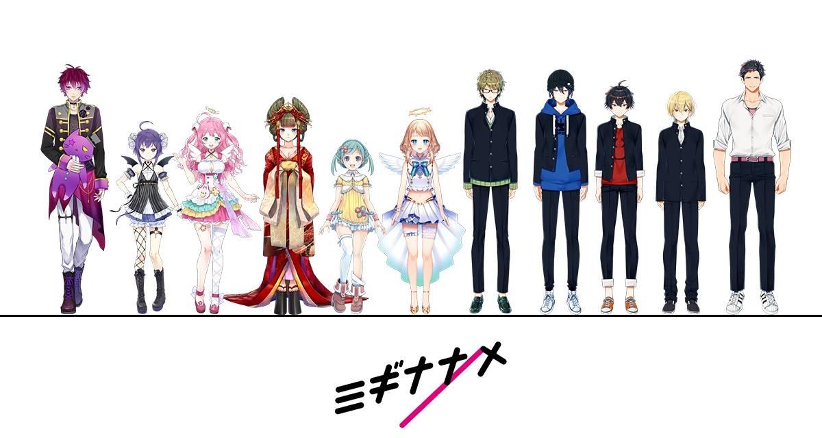 CandeeのVTuberプロジェクト第二弾『ミギナナメ/』8月31日に発足!