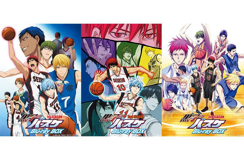 『黒子のバスケ』Blu-ray BOXが3カ月連続リリース決定! 新作キャラクターソングも