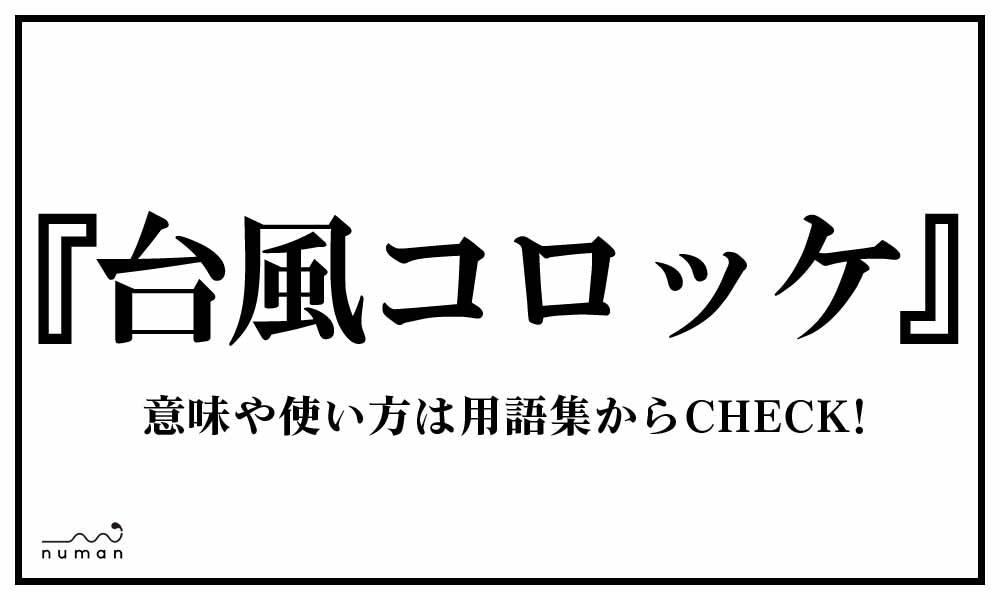 台風コロッケ(たいふうころっけ)