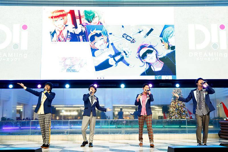 島﨑信長、古川慎『DREAM!ing』キャスト陣が初ライブを披露! AGF2018ステージ