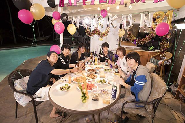太田基裕の誕生日パーティーで一発芸タイム!? 『たびメイト』第9話のあらすじと先行カットが公開!!
