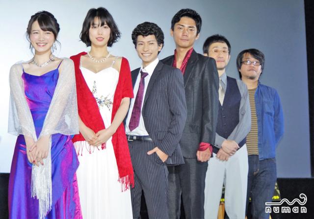 小澤廉が現場でいつも考えていたこととは?――映画『新宿パンチ』初日舞台挨拶