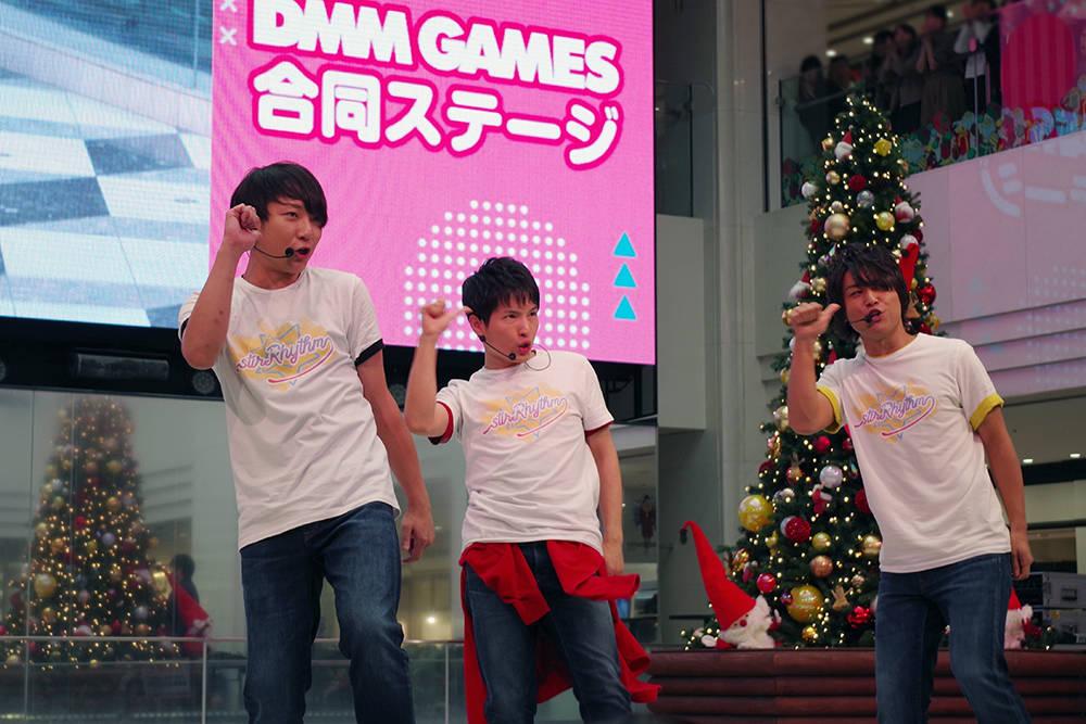 鈴木裕斗、河本啓佑、高塚智人らキャストがライブ&楽器演奏!! DMM GAMES女性向けゲームのAGF2018ステージ