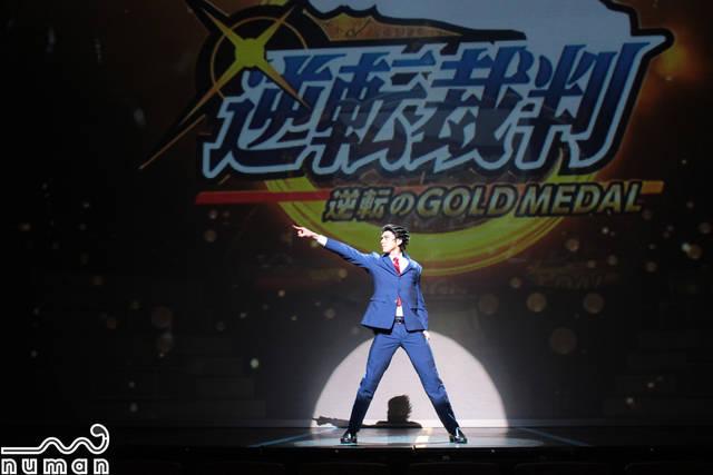 【速報】加藤将、小南光司らのゲネ写真公開!|舞台『逆転裁判 -逆転のGOLD MEDAL-』