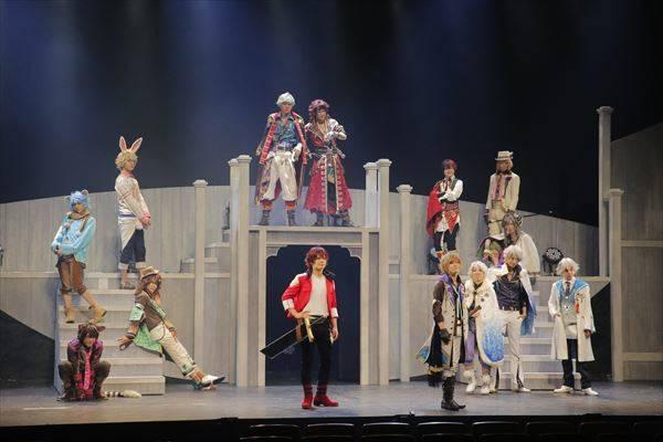 """14人の王子の""""姫""""になれる♪体感型舞台『夢王国と眠れる100人の王子様 On Stage』ゲネプロレポート"""