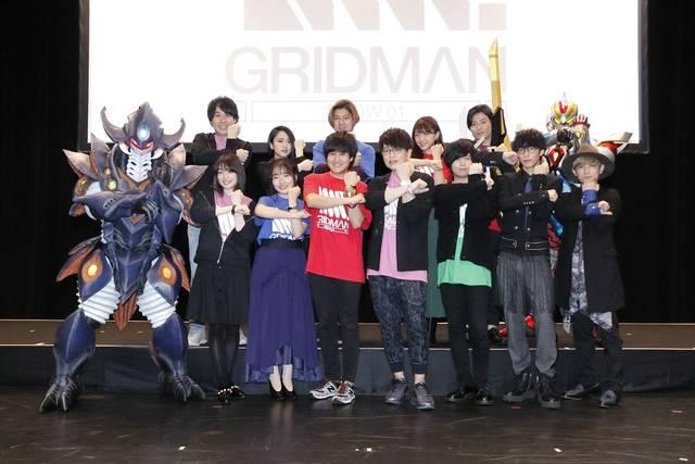 広瀬裕也、緑川光、斉藤壮馬らが登壇! 『SSSS.GRIDMAN SHOW01』イベント速報到着