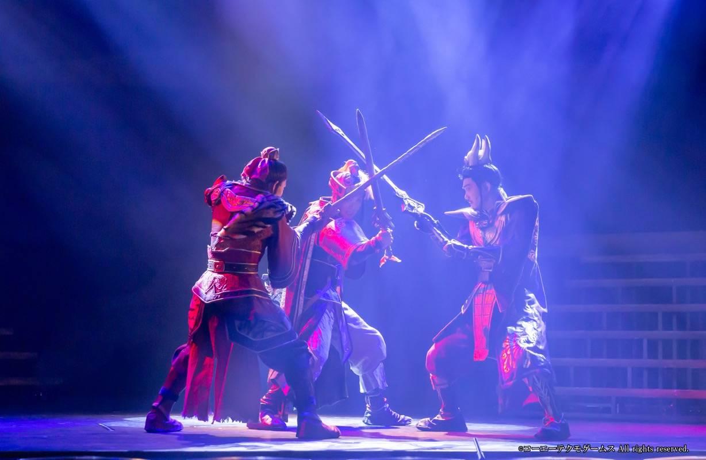 舞台「真・三國無双 赤壁の戦い」ゲネプロ写真が到着!