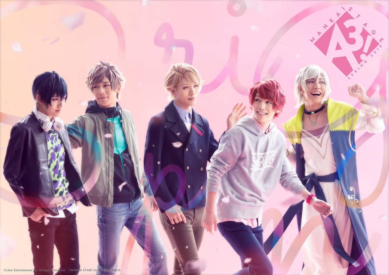 MANKAI STAGE『A3!』~SPRING 2019~ キャスト&キービジュアル、全情報解禁!