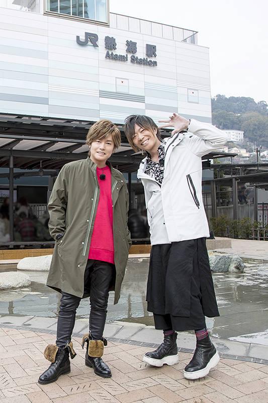 『谷山紀章のお気楽さんぽ。in 静岡』DVD発売決定! 森久保祥太郎とゆるっと散歩