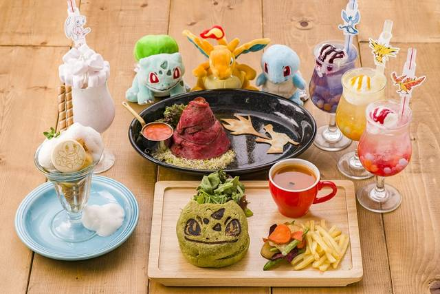 """『ポケモンカフェ』1周年記念メニュー登場!""""桜アフロ""""のピカチュウがケーキに♪"""