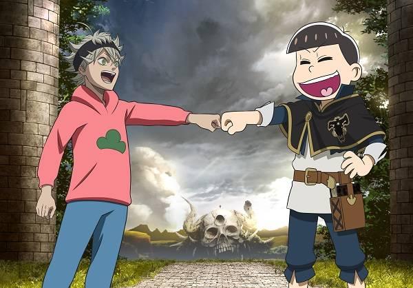 『えいがのおそ松さん』×『ブラッククローバー』 スペシャルコラボビジュアル公開!