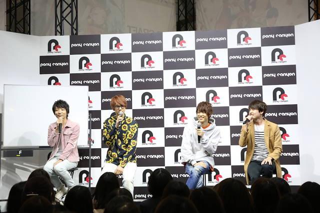 『A3!』リーダーズが息の合ったトーク♪福山潤、河本啓佑も登場!|AJ2019ステージレポート