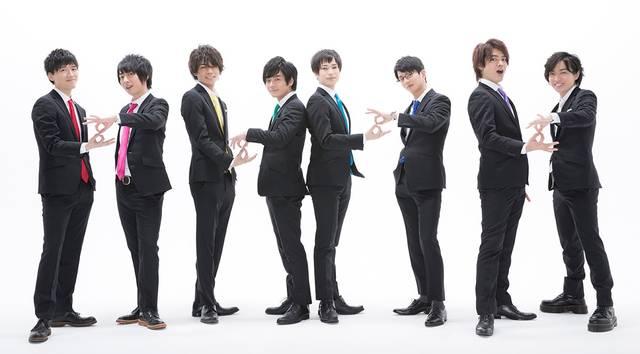 畠中祐、野上翔、八代拓ら若手男性声優8名による『8P(エイトピース)』オリジナルグッズが発売!