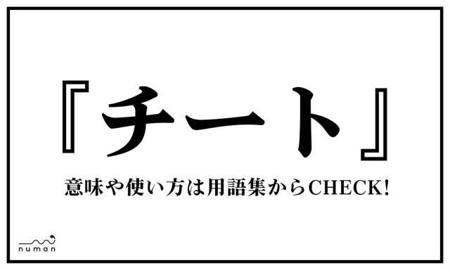 チート(ちーと)