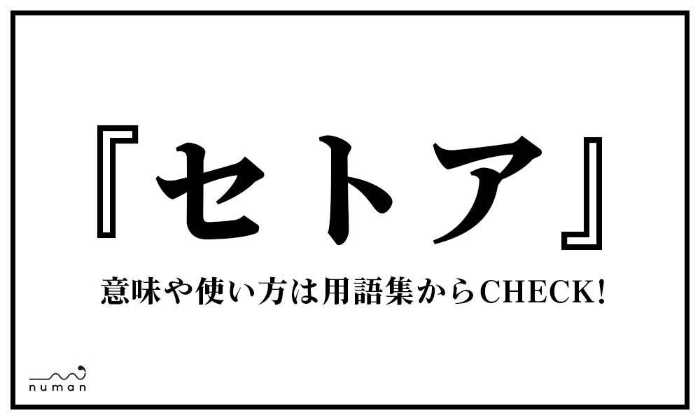 セトア(せとあ)