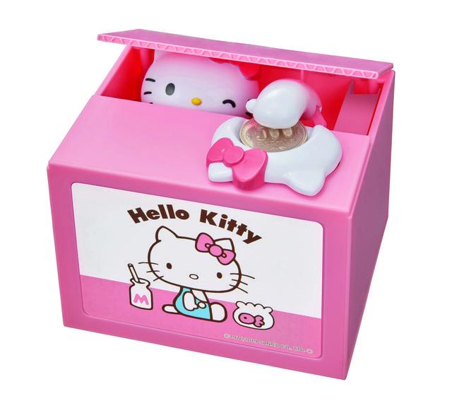 『ハローキティ』といっしょに楽しく貯金♪ キティちゃんがコインを回収してくれる『NEWハローキティバンク』登場!