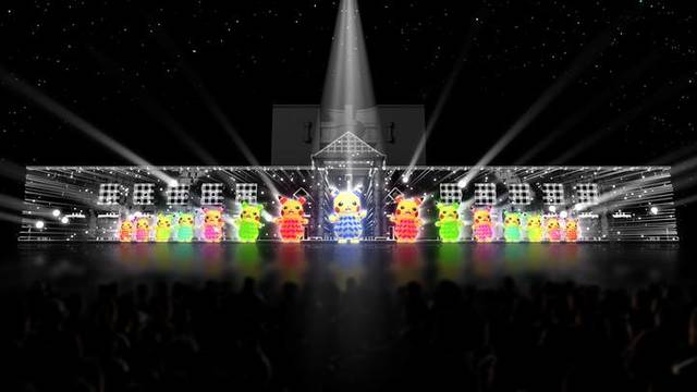 「ピカチュウ大量発生チュウ! 2019」夜の開催決定! 巨大噴水と光が融合したチームパフォーマンスも