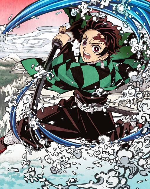 溢れる躍動感! テレビアニメ『鬼滅の刃』BD&DVD第1巻のジャケットイラスト解禁!
