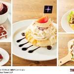 サンジのハート型ピザ、サボのバーガーも♡ 「ワンピースタワー」Cafe Mugiwara新メニュー続々