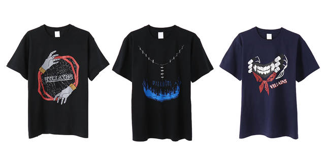 死柄木弔、荼毘、トガヒミコ♪ 『僕のヒーローアカデミア』敵<ヴィラン>Tシャツが発売決定!