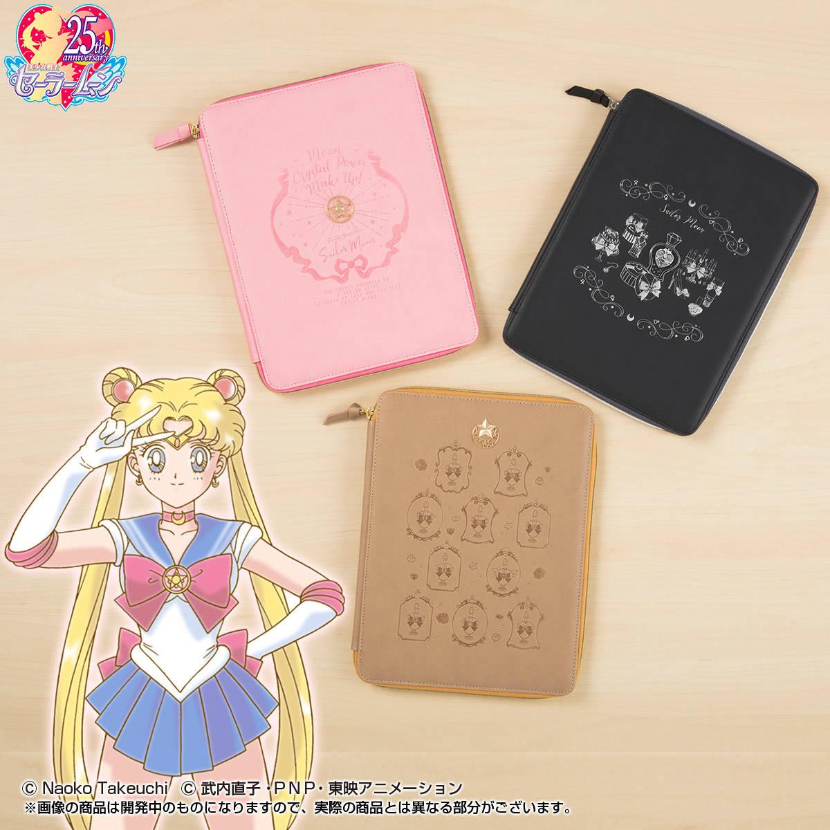 『美少女戦士セーラームーン』のマルチケースが可愛い♡スマホや文具、パスポート入れに