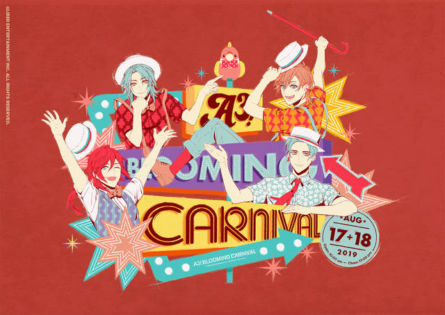 『A3!』シトロン、三角、莇、ガイのイベントビジュアル解禁!「A3! BLOOMING CARNIVAL」続報