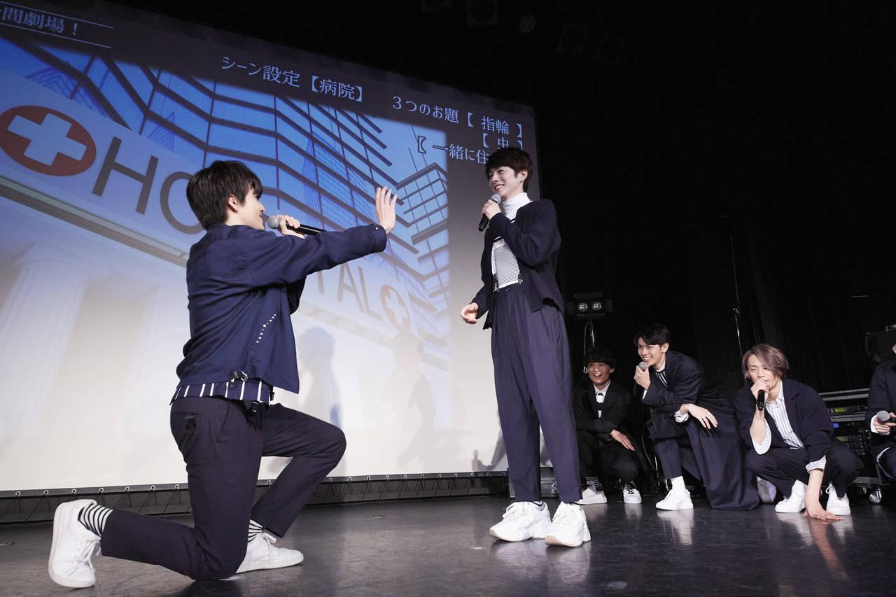 赤澤遼太郎、前川優希、健人らの「TFG」がファンミーティグ開催!デビューシングルを熱唱