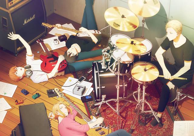 ノイタミナ初のBL原作アニメ『ギヴン』Blu-ray&DVD全4巻にて発売決定!発売告知CMも解禁