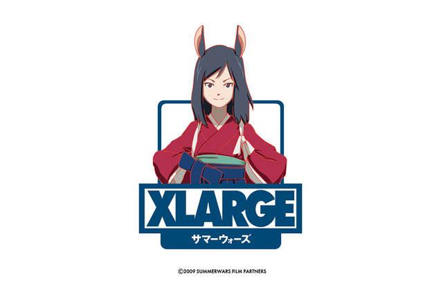 『サマーウォーズ』公開10周年記念♪ XLARGEとのスペシャルコラボが実現!
