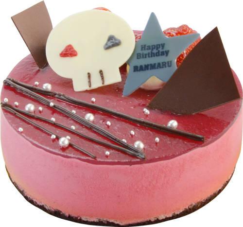 黒崎蘭丸ケーキはバナナのムース入り♪ 『うたの☆プリンスさまっ♪』バースデーケーキ企画第6弾!