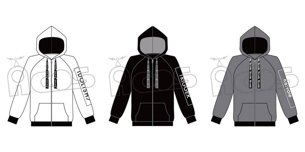 『アイドリッシュセブン』グループイメージパーカーが登場♪ シンプルなデザインで大人にもオススメ!
