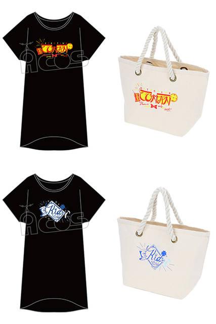 怪盗キッド&コナンのデザインをさりげなく♪ 『名探偵コナン』ロングカットソーとロープランチトートがデビュー!