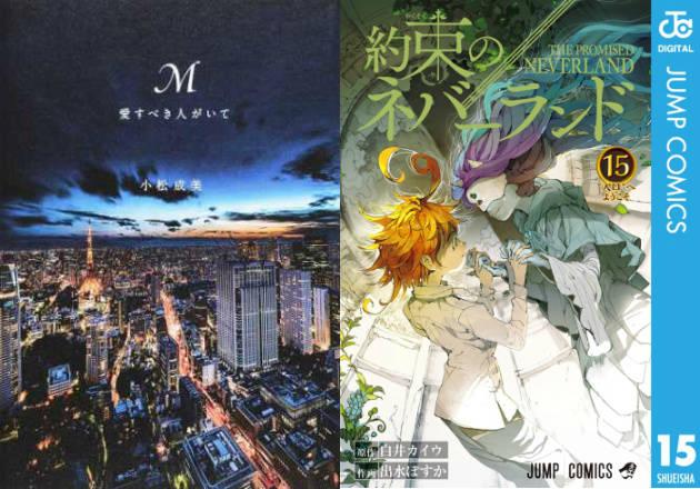 第2位は『約束のネバーランド』、第1位は?『銀魂公式ファンブック広侍苑』も【書店ランキング】