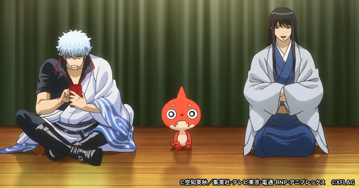 『銀魂』×『モンスト』コラボ第2弾! オリジナルストーリーのコラボアニメが制作決定♪